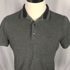 Burberry slim fit polo XL fits more like a M/L